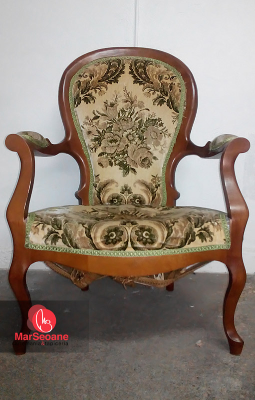 Sillon isabelino mar seoane tapicer a - Tapiceros valladolid ...